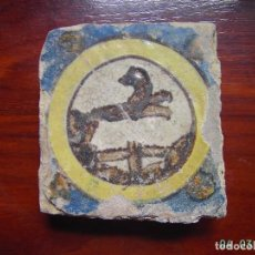 Antigüedades: ANTIGUO AZULEJO DE TRIANA.SIGLO XVIII.. Lote 237309910