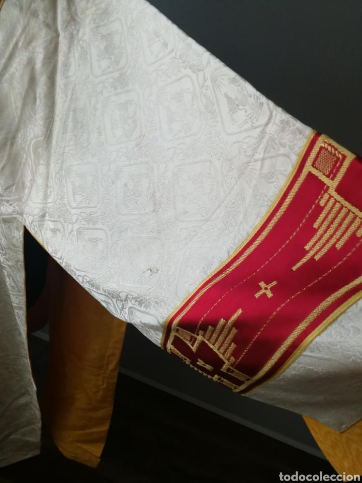 Antigüedades: ANTIGUA DALMATICA ECLESIASTICA - Foto 5 - 237355240
