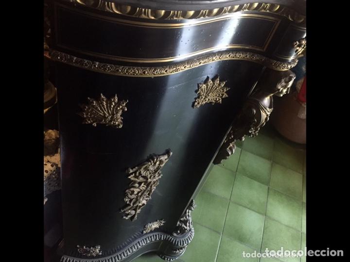 Antigüedades: Entredos francés Napoleón 132x120x45cm - Foto 6 - 237355525