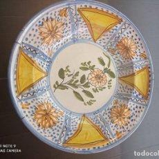 Antiquités: RIBESALBES, MAGNÍFICO PLATO SIGLO XIX, PERFECTO 35 CM DIAMETRO. Lote 237382710