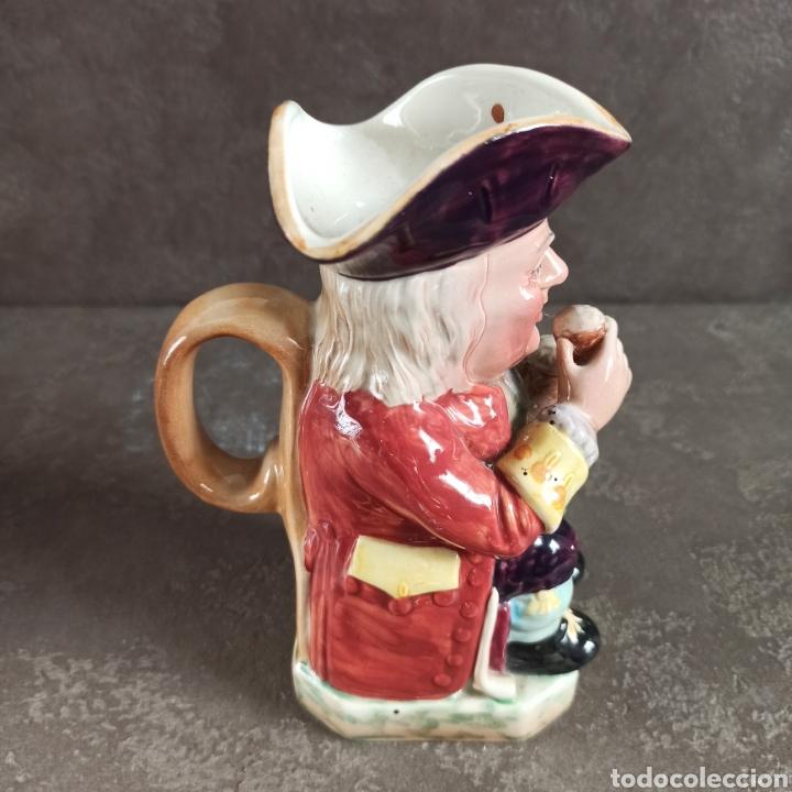 Antigüedades: Toby Fhilpott Berwick * jarra Toby cerámica inglesa - Foto 5 - 237485255