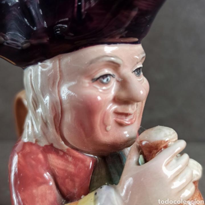 Antigüedades: Toby Fhilpott Berwick * jarra Toby cerámica inglesa - Foto 6 - 237485255
