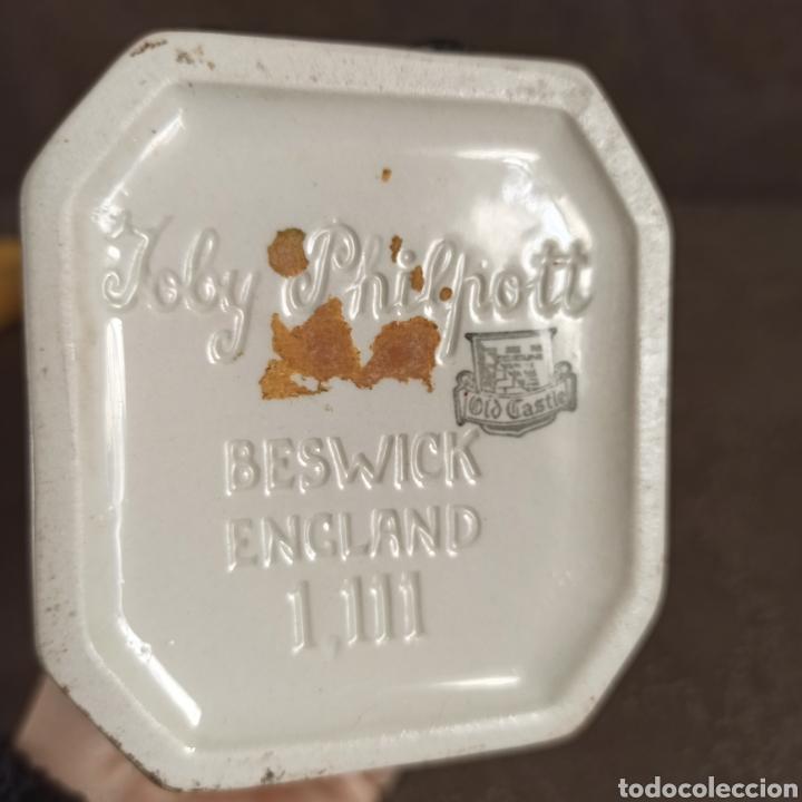 Antigüedades: Toby Fhilpott Berwick * jarra Toby cerámica inglesa - Foto 7 - 237485255