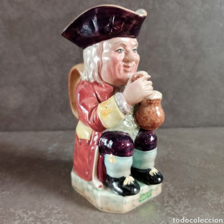 TOBY FHILPOTT BERWICK * JARRA TOBY CERÁMICA INGLESA (Antigüedades - Porcelanas y Cerámicas - Inglesa, Bristol y Otros)