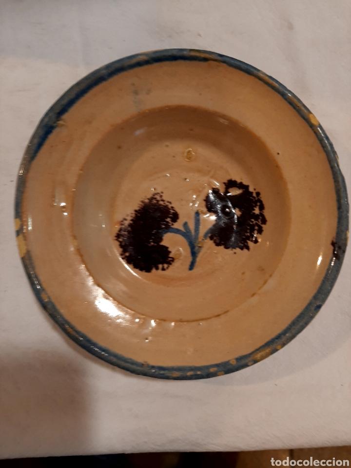 BONITO PLATO DE MUEL S. XIX (Antigüedades - Porcelanas y Cerámicas - Teruel)