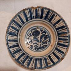 Oggetti Antichi: PLATO DE TERUEL S. XVIII. Lote 237516315