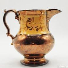 Antigüedades: JARRA REFLEJO MANISES. SIGLO XIX.. Lote 237537305