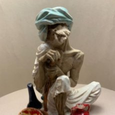 Antiguidades: FIGURA HINDÚ ALGORA. Lote 237555845