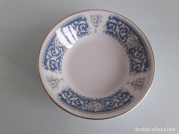 PLATO - FUENTE DE PORCELANA ESMALTADA Y DECORADA - JOHNSON BROS - IRONSTONE - MADE IN ENGLAND (Antigüedades - Porcelanas y Cerámicas - Inglesa, Bristol y Otros)