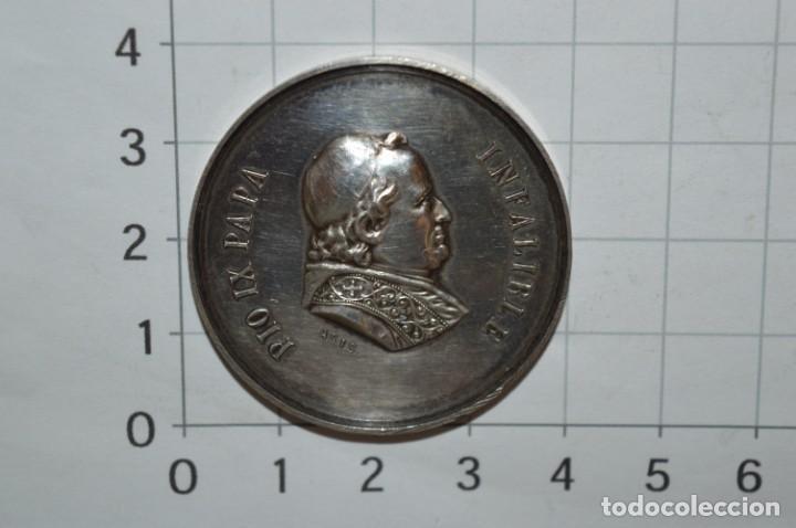Antigüedades: PIO IX PAPA / INFALIBLE - 16 0CTUBRE DE 1876 / 1º ROMERÍA ESPAÑOLA AL VATICANO ¡Mira fotos/detalles! - Foto 4 - 237563995