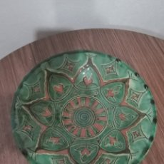 Antiquités: PLATO DE CERÁMICA GONGORA UBEDA. Lote 237588780