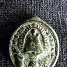 Antigüedades: ANTIGUA MEDALLA N. S. DE TEXEDA. TEJEDA (CUENCA). SAN PEDRO APOSTOL. S.XVII (3). Lote 237624225