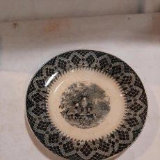 Antigüedades: PLATO CARTAGENA FCA.LA AMISTAD XIX. Lote 237624460