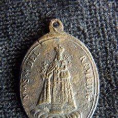 Antigüedades: ANTIGUA MEDALLA N.S. DEL REMEDIO (PATRONA DE UTIEL) Y ARCHICOFRADÍA SMA. TRINIDAD. S. XIX (8). Lote 237624670
