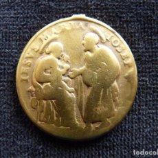 Antigüedades: ANTIGUA MEDALLA S. ANA Y S. JOAQUIN - JESUS, MARÍA Y JOSE. 33 MM. S. XVIII (11). Lote 237624915