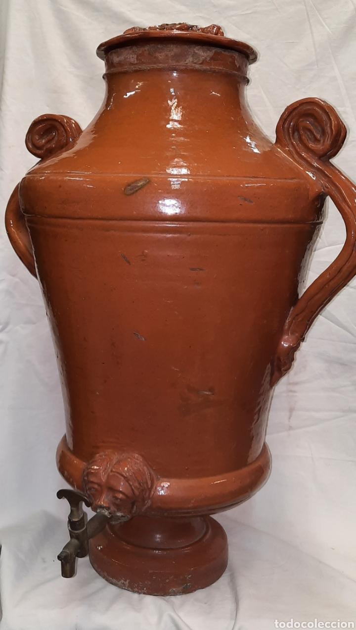 ANTIGUO AGUAMANIL CATALÁN TERRISSA(MATARO) (Antigüedades - Porcelanas y Cerámicas - Catalana)