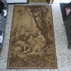 Antigüedades: ANTIGUO GRAN TAPIZ ESPAÑOL ESCENA DE ÉPOCA PRINCIPIOS S XX MED 201 X 125 CM. Lote 237690670