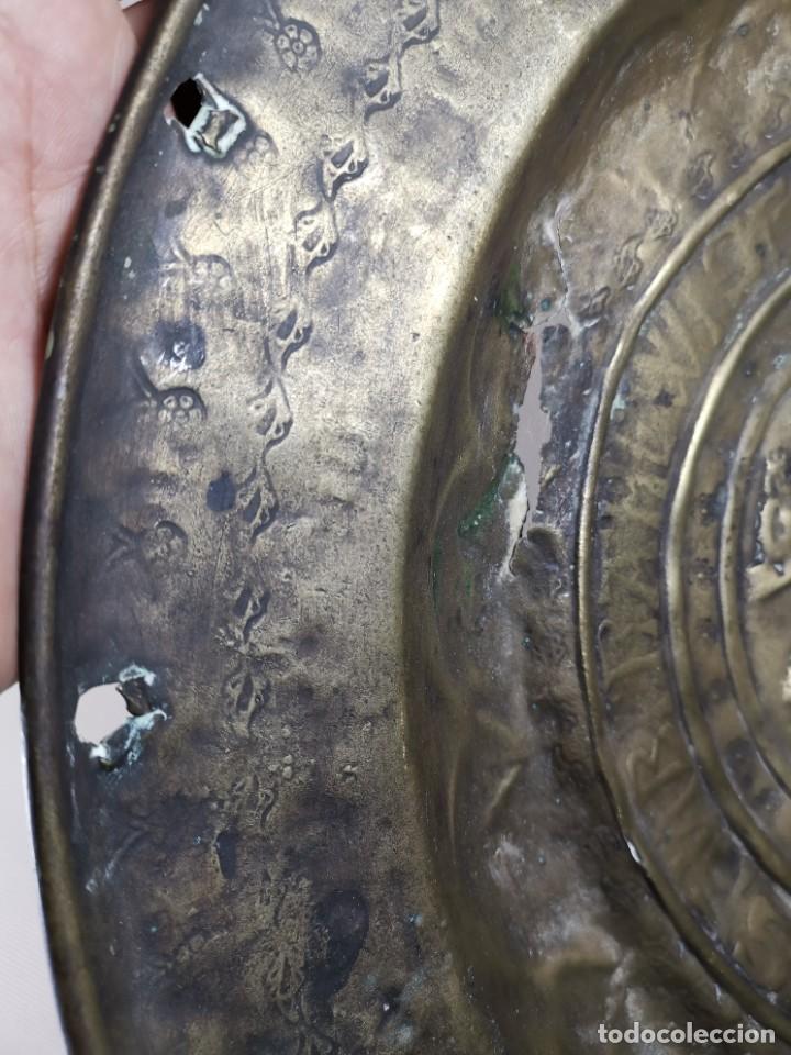 Antigüedades: ORIGINAL PLATO PETITORIO LIMOSNERO NUREMBERG SIGLO XVI--SAN JORGE---SANT JORDI - Foto 15 - 237740995