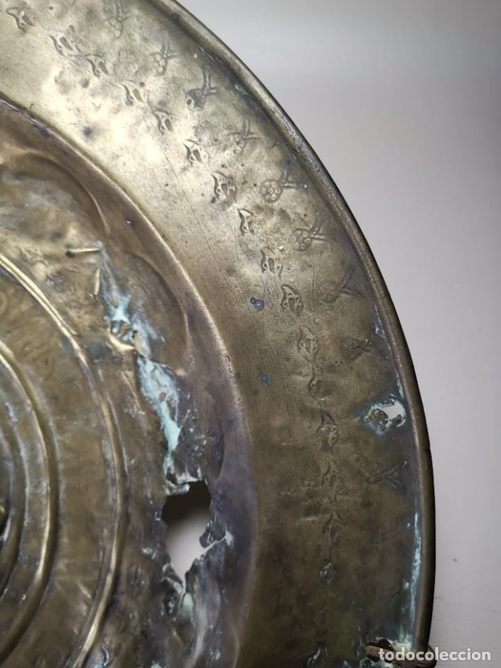Antigüedades: ORIGINAL PLATO PETITORIO LIMOSNERO NUREMBERG SIGLO XVI--SAN JORGE---SANT JORDI - Foto 22 - 237740995