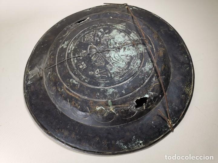 Antigüedades: ORIGINAL PLATO PETITORIO LIMOSNERO NUREMBERG SIGLO XVI--SAN JORGE---SANT JORDI - Foto 29 - 237740995