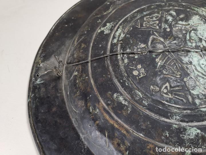 Antigüedades: ORIGINAL PLATO PETITORIO LIMOSNERO NUREMBERG SIGLO XVI--SAN JORGE---SANT JORDI - Foto 32 - 237740995