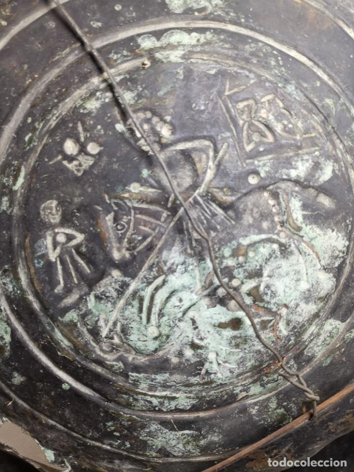 Antigüedades: ORIGINAL PLATO PETITORIO LIMOSNERO NUREMBERG SIGLO XVI--SAN JORGE---SANT JORDI - Foto 33 - 237740995