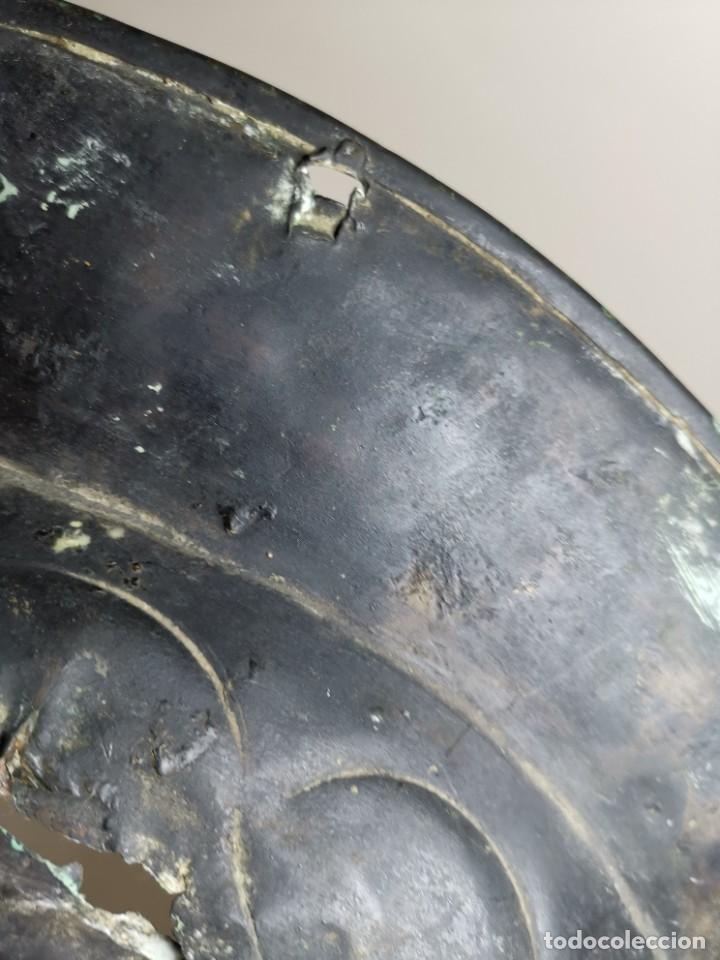Antigüedades: ORIGINAL PLATO PETITORIO LIMOSNERO NUREMBERG SIGLO XVI--SAN JORGE---SANT JORDI - Foto 35 - 237740995
