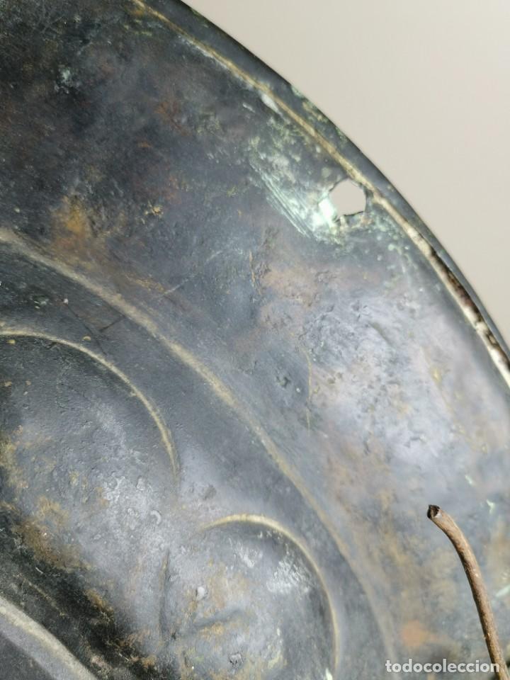 Antigüedades: ORIGINAL PLATO PETITORIO LIMOSNERO NUREMBERG SIGLO XVI--SAN JORGE---SANT JORDI - Foto 36 - 237740995