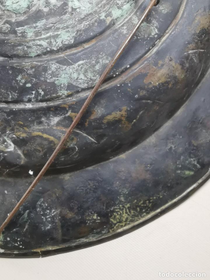 Antigüedades: ORIGINAL PLATO PETITORIO LIMOSNERO NUREMBERG SIGLO XVI--SAN JORGE---SANT JORDI - Foto 39 - 237740995