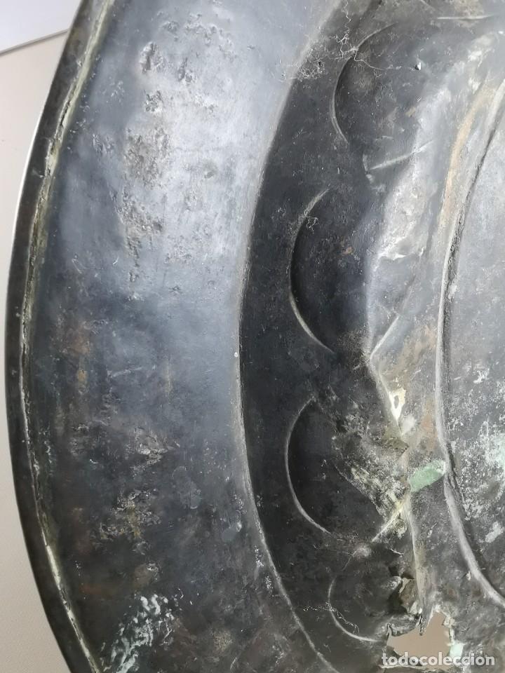 Antigüedades: ORIGINAL PLATO PETITORIO LIMOSNERO NUREMBERG SIGLO XVI--SAN JORGE---SANT JORDI - Foto 42 - 237740995