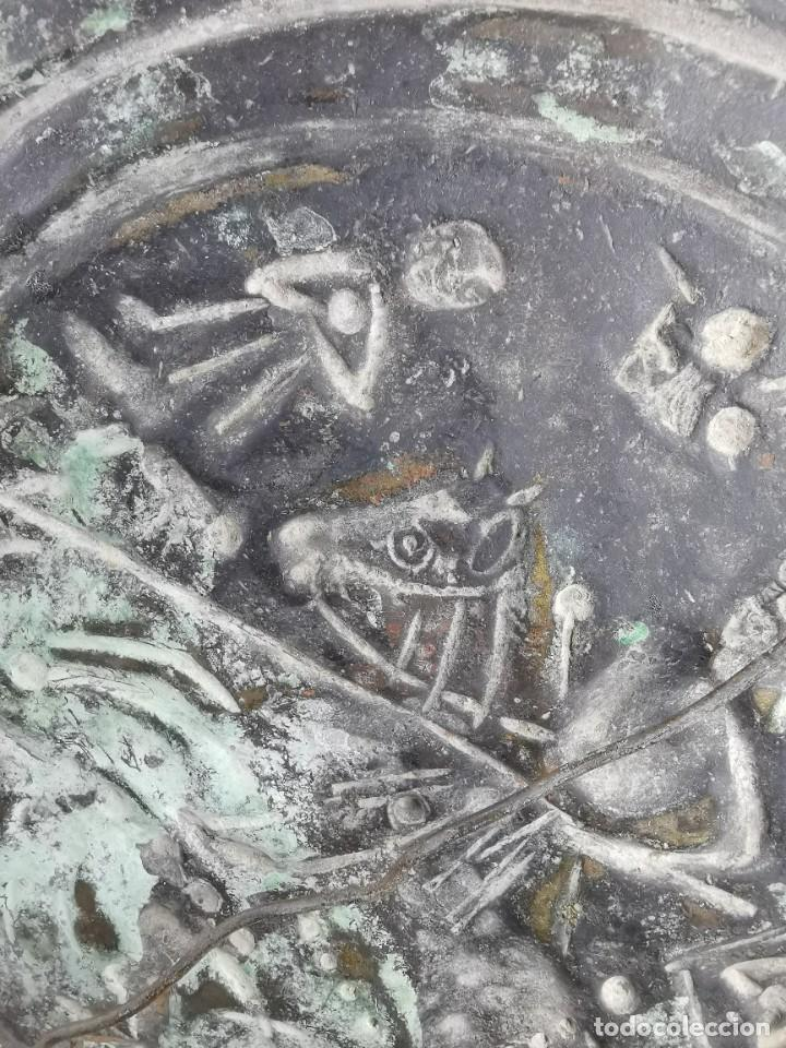 Antigüedades: ORIGINAL PLATO PETITORIO LIMOSNERO NUREMBERG SIGLO XVI--SAN JORGE---SANT JORDI - Foto 47 - 237740995