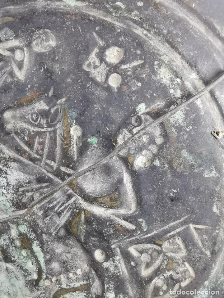 Antigüedades: ORIGINAL PLATO PETITORIO LIMOSNERO NUREMBERG SIGLO XVI--SAN JORGE---SANT JORDI - Foto 48 - 237740995