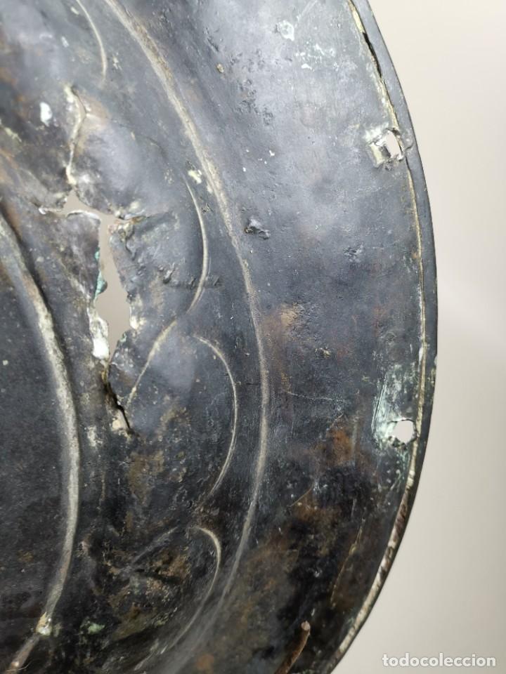 Antigüedades: ORIGINAL PLATO PETITORIO LIMOSNERO NUREMBERG SIGLO XVI--SAN JORGE---SANT JORDI - Foto 51 - 237740995