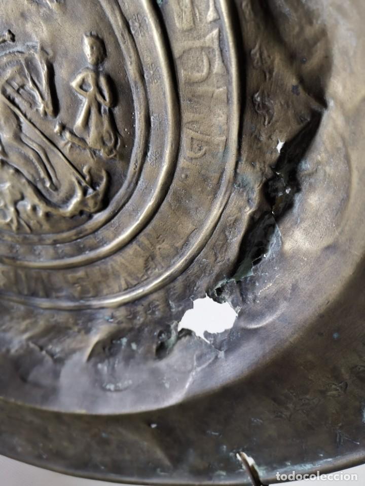 Antigüedades: ORIGINAL PLATO PETITORIO LIMOSNERO NUREMBERG SIGLO XVI--SAN JORGE---SANT JORDI - Foto 53 - 237740995