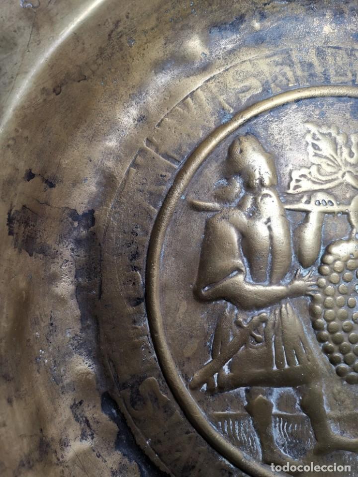 Antigüedades: ORIGINAL PLATO PETITORIO LIMOSNERO NUREMBERG SIGLO XVI- - Foto 11 - 237741480