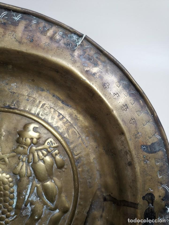 Antigüedades: ORIGINAL PLATO PETITORIO LIMOSNERO NUREMBERG SIGLO XVI- - Foto 14 - 237741480