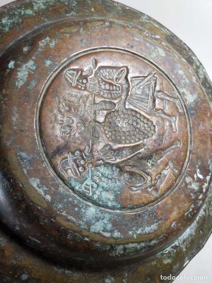 Antigüedades: ORIGINAL PLATO PETITORIO LIMOSNERO NUREMBERG SIGLO XVI- - Foto 15 - 237741480