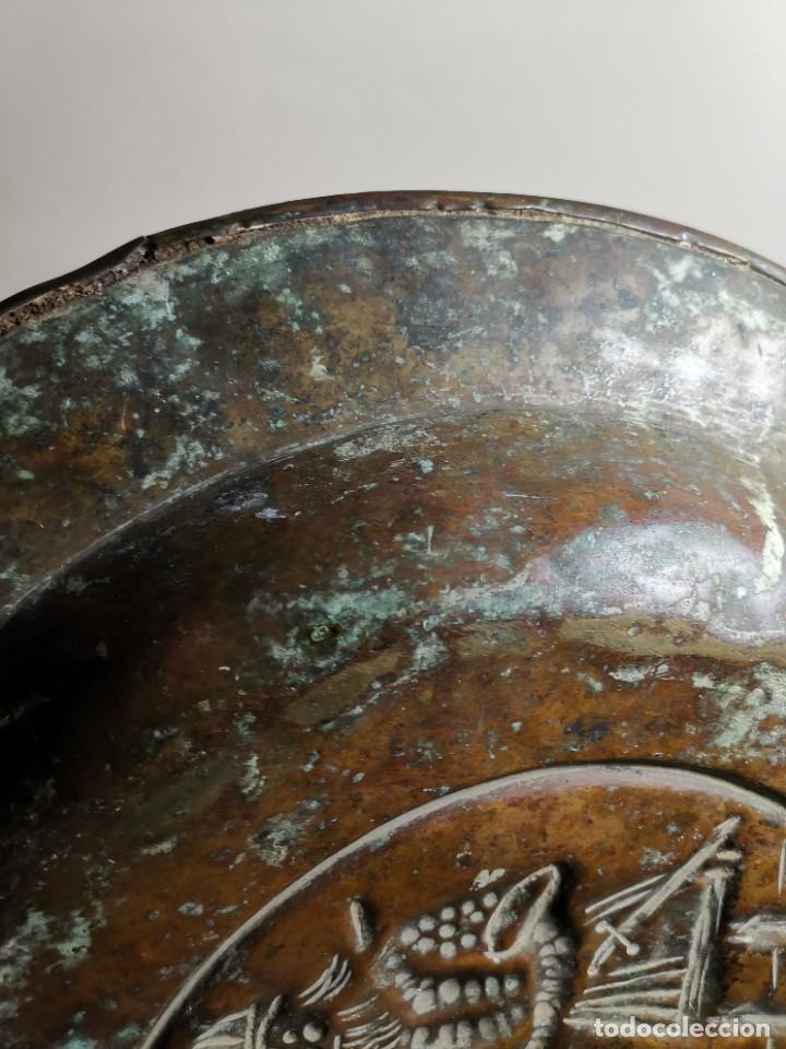 Antigüedades: ORIGINAL PLATO PETITORIO LIMOSNERO NUREMBERG SIGLO XVI- - Foto 18 - 237741480
