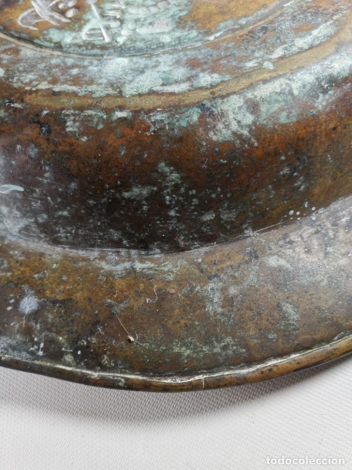 Antigüedades: ORIGINAL PLATO PETITORIO LIMOSNERO NUREMBERG SIGLO XVI- - Foto 22 - 237741480