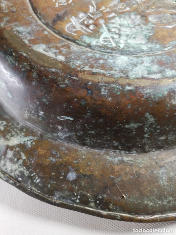 Antigüedades: ORIGINAL PLATO PETITORIO LIMOSNERO NUREMBERG SIGLO XVI- - Foto 23 - 237741480