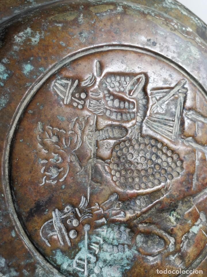 Antigüedades: ORIGINAL PLATO PETITORIO LIMOSNERO NUREMBERG SIGLO XVI- - Foto 24 - 237741480