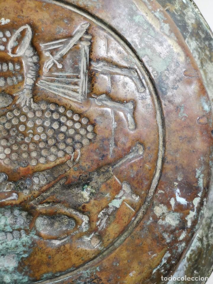Antigüedades: ORIGINAL PLATO PETITORIO LIMOSNERO NUREMBERG SIGLO XVI- - Foto 25 - 237741480