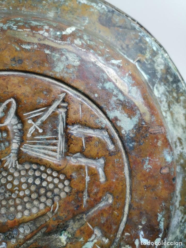 Antigüedades: ORIGINAL PLATO PETITORIO LIMOSNERO NUREMBERG SIGLO XVI- - Foto 26 - 237741480