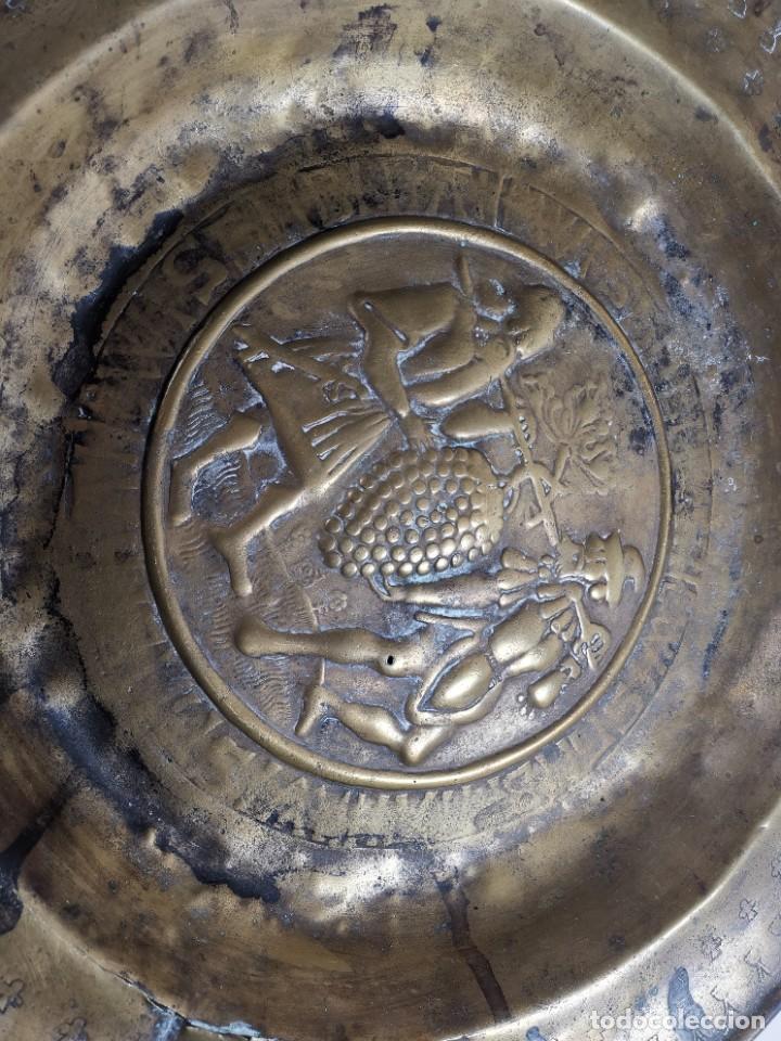 Antigüedades: ORIGINAL PLATO PETITORIO LIMOSNERO NUREMBERG SIGLO XVI- - Foto 32 - 237741480