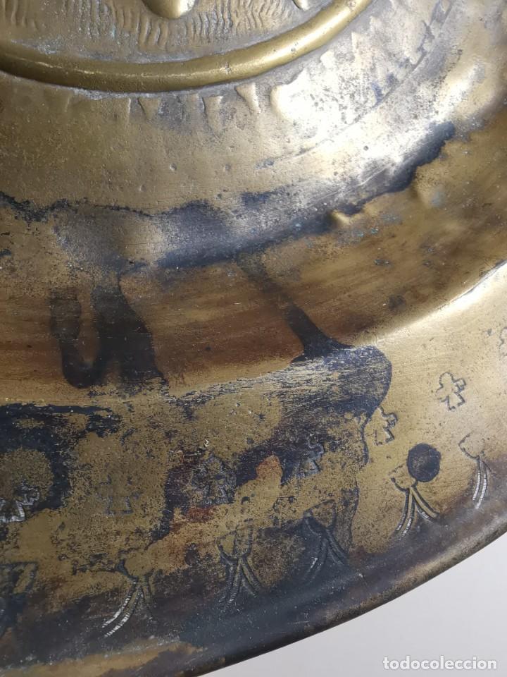 Antigüedades: ORIGINAL PLATO PETITORIO LIMOSNERO NUREMBERG SIGLO XVI- - Foto 38 - 237741480