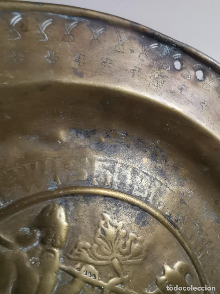 Antigüedades: ORIGINAL PLATO PETITORIO LIMOSNERO NUREMBERG SIGLO XVI- - Foto 42 - 237741480