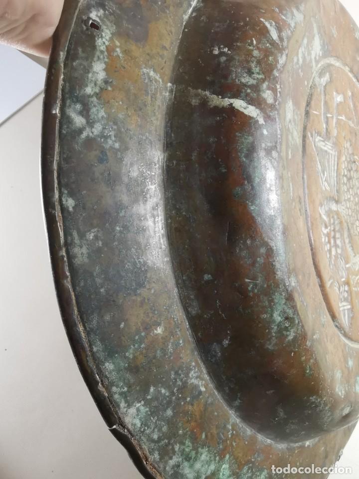 Antigüedades: ORIGINAL PLATO PETITORIO LIMOSNERO NUREMBERG SIGLO XVI- - Foto 50 - 237741480