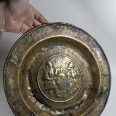 Antigüedades: ORIGINAL PLATO PETITORIO LIMOSNERO NUREMBERG SIGLO XVI-. Lote 237741480