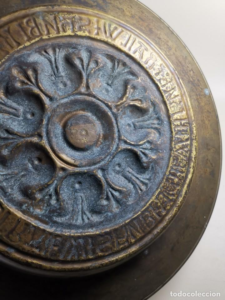 Antigüedades: ANTIGUO PLATO PETITORIO LIMOSNERO NUREMBERG SIGLO XVIII - Foto 10 - 237742950