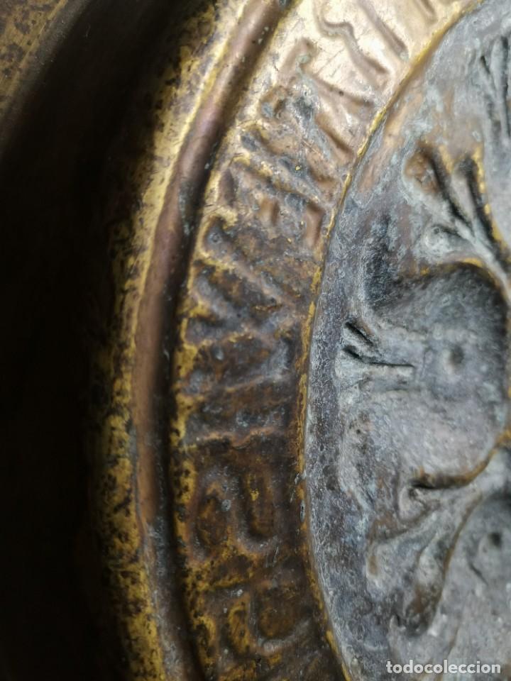 Antigüedades: ANTIGUO PLATO PETITORIO LIMOSNERO NUREMBERG SIGLO XVIII - Foto 21 - 237742950